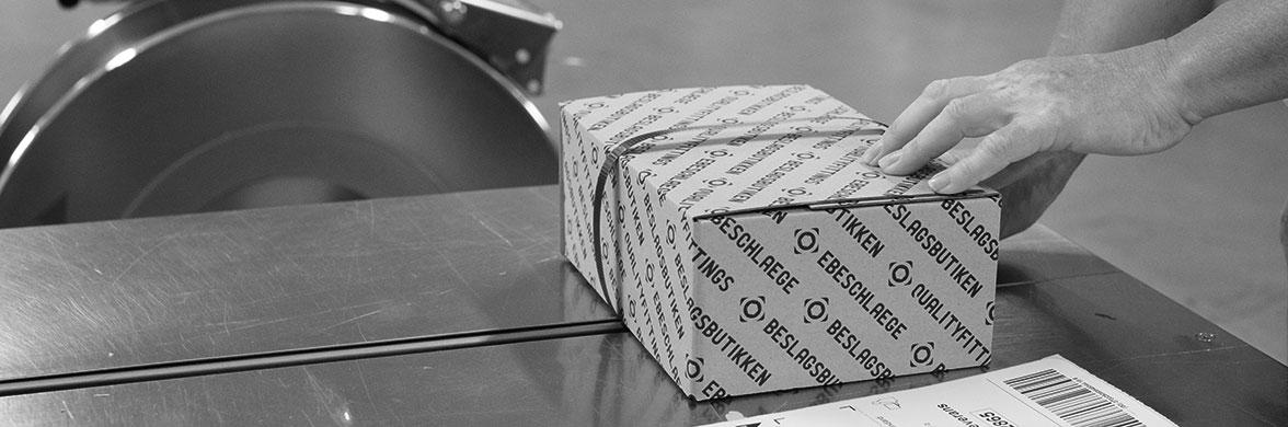 Verpackung von Paketen