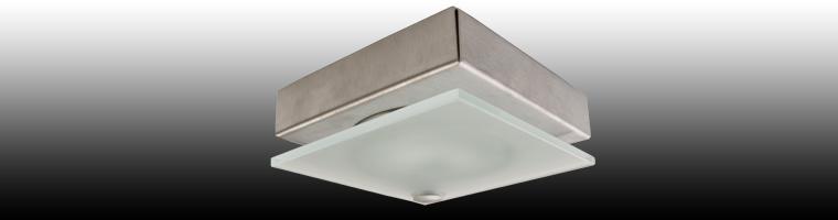 Quadro Halogen Unterbauleuchten Edelstahl oder Aluminium