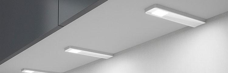 beleuchtung f r k che badezimmer und garderobe ebeschl ge. Black Bedroom Furniture Sets. Home Design Ideas
